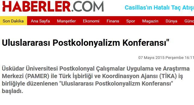 Haberler.com haberi