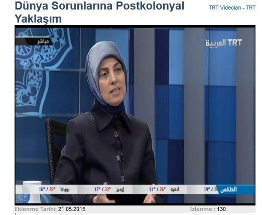 Dünya Sorunlarına Postkolonyal Yaklaşım - TRT Arapça Programı