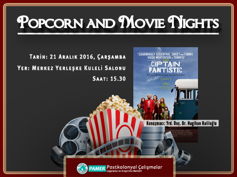 PAMER Popcorn and Movie Nights- Captain Fantastic Filmi