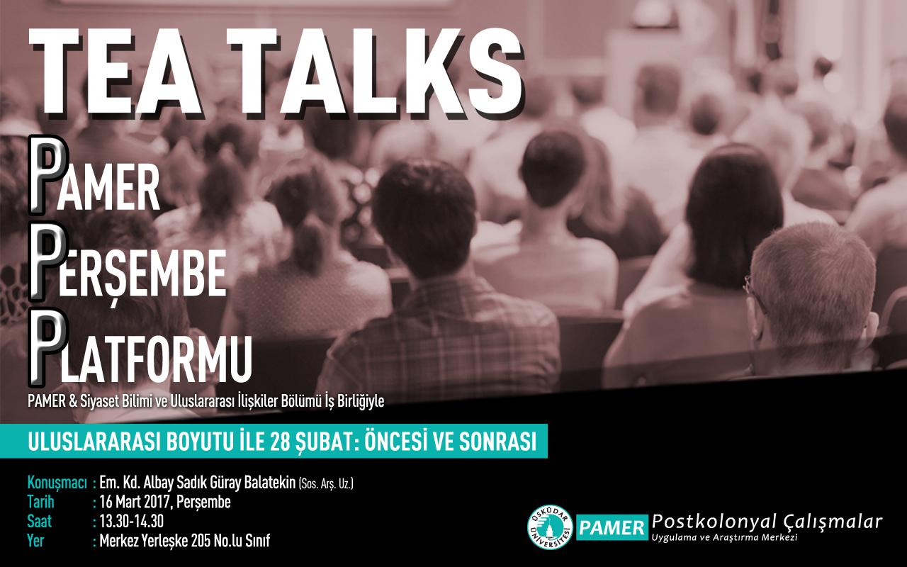 Sadık Güray Balatekin- Uluslararası Boyutu ile 28 Şubat: Öncesi ve Sonrası